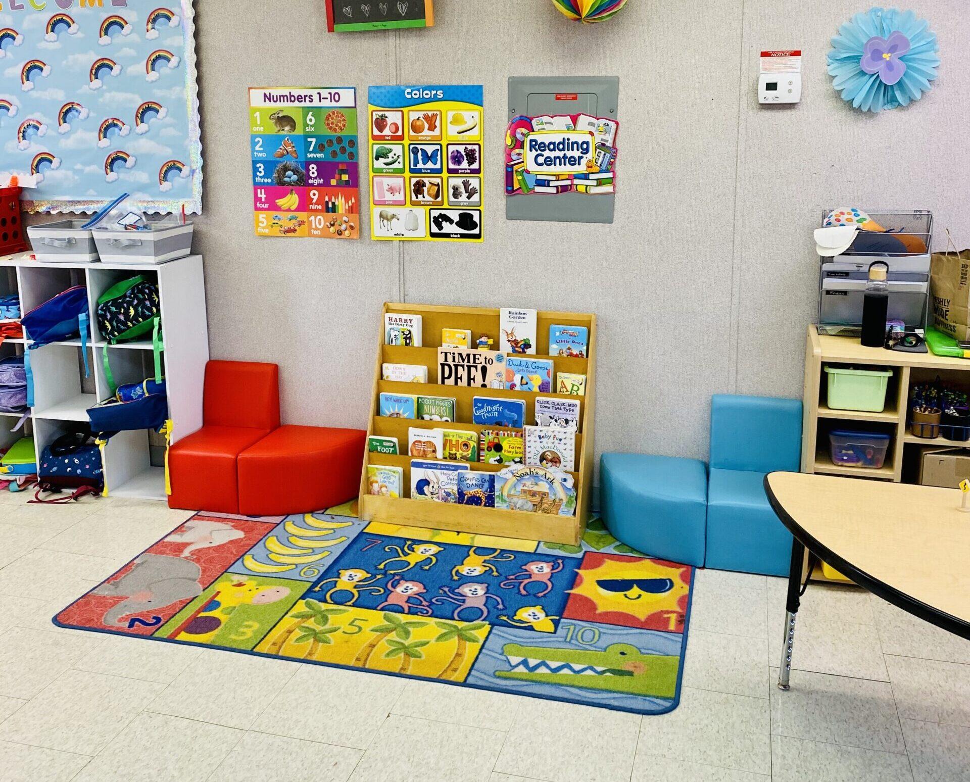 Guppies Classroom | Preschool of Scottsdale